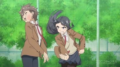 『青春ブタ野郎はバニーガール先輩の夢を見ない』 #3 桜島麻衣 001